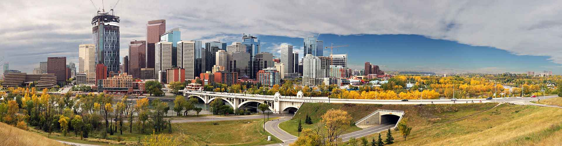 Calgary – Hotels for students in Calgary. Maps of Canadá, photos and reviews for each hotel for student in Calgary.