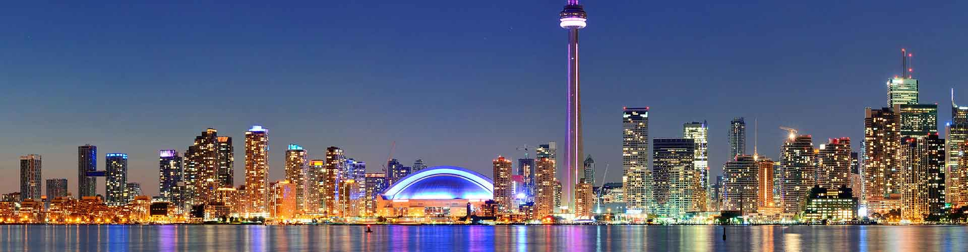 Toronto – Hotels for students in Toronto. Maps of Canadá, photos and reviews for each hotel for student in Toronto.