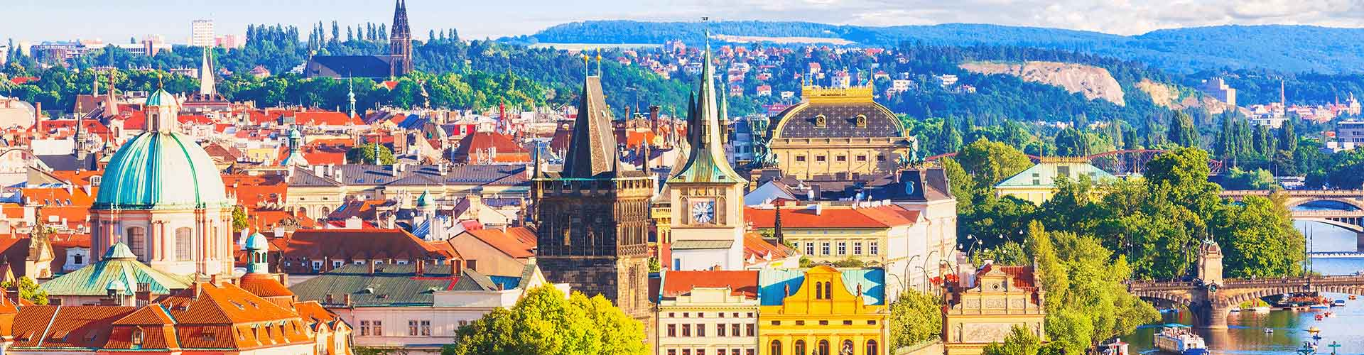 Praga – Hotels for students in Praga. Maps of República Checa, photos and reviews for each hotel for student in Praga.