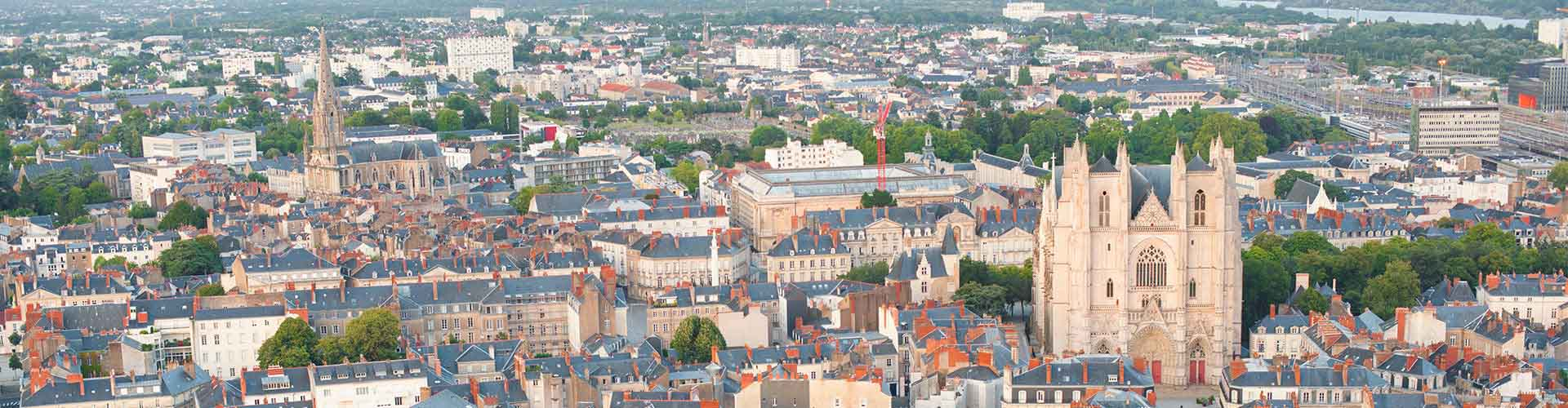 Nantes – Hotels for students in Nantes. Maps of Francia, photos and reviews for each hotel for student in Nantes.