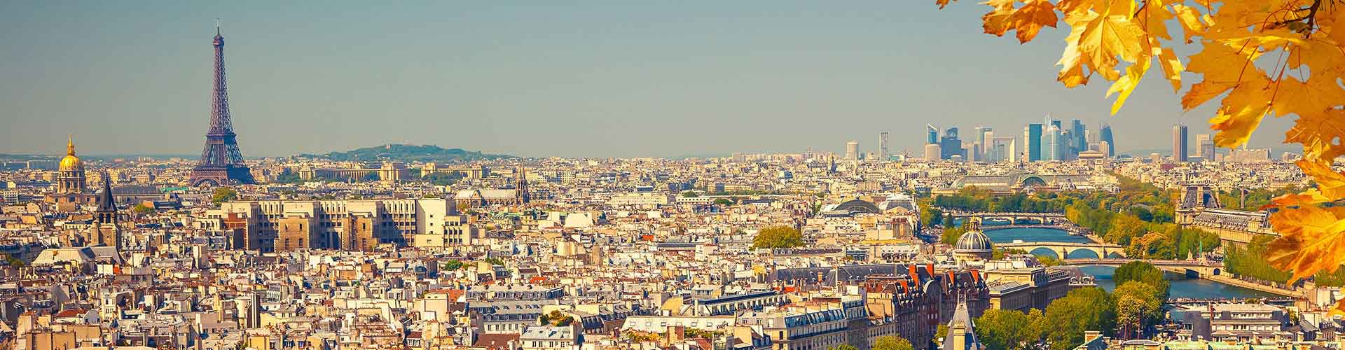 París – Hotels for students in París. Maps of Francia, photos and reviews for each hotel for student in París.