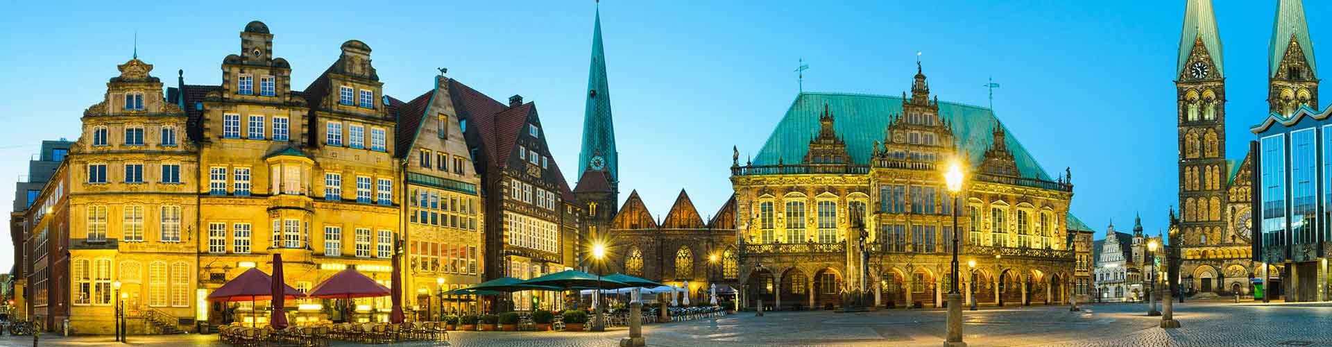 Bremen – Hotels for students in Bremen. Maps of Alemania, photos and reviews for each hotel for student in Bremen.