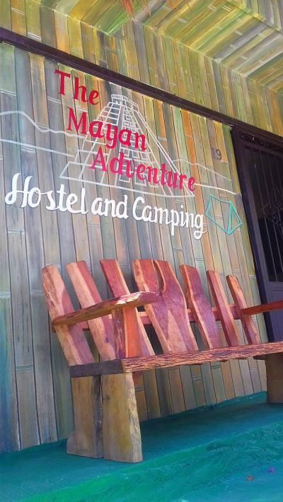 Hostales y Albergues - The Mayan Adventure Hostel & Camping